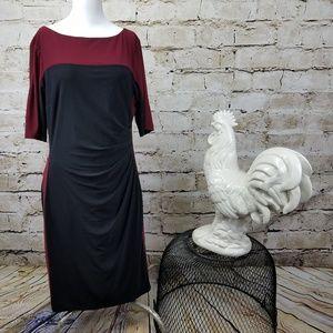 Lauren Ralph Lauren Jersey Sheath Dress Black 14